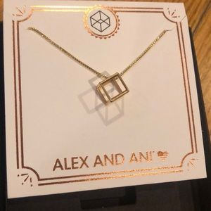 Brand new Alex and Ani adjustable necklace